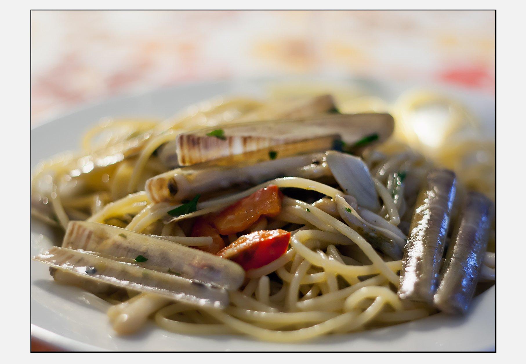 Spaghetti Telline & Cannolicchi (Renato Corradi)