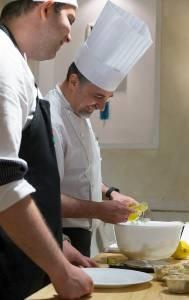 Chef Massimo Talia e Gioacchino Romano (Renato Corradi)