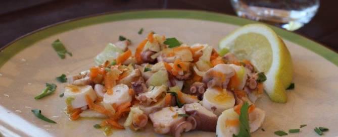 Octopus Salad (Yolanda Davis)