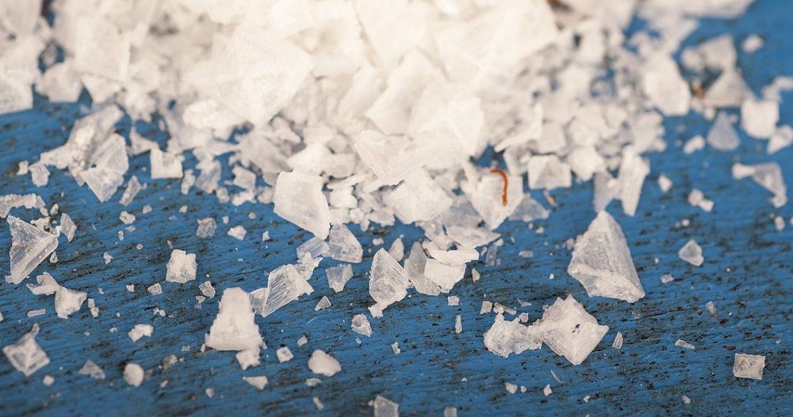 cristalli di sale allo zafferano (Renato Corradi)